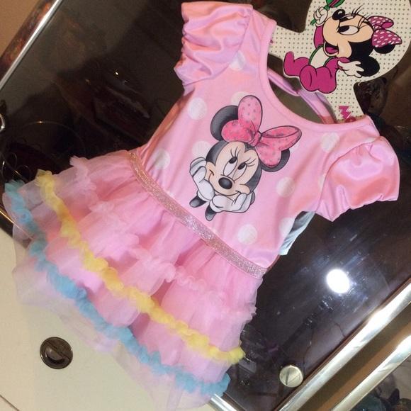 Disney Baby Minnie Mouse Tutu dress 12 months